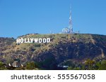 hollywood california   jan. 1 ... | Shutterstock . vector #555567058