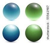 Glass Spheres  Balls  3d Vecto...