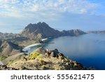 Scenic View Of Padar Island