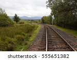 rannoch railway station  ... | Shutterstock . vector #555651382