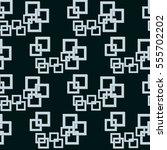 geometric hi tech seamless... | Shutterstock . vector #555702202