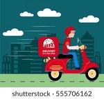 fast food advertisement man...