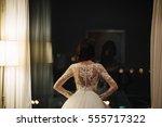 bride in wedding dress | Shutterstock . vector #555717322