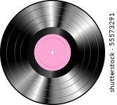 vector realistic lp vinyl... | Shutterstock .eps vector #55573291