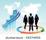 business visit card   Shutterstock .eps vector #55574905