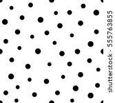 vector seamless pattern.... | Shutterstock .eps vector #555763855