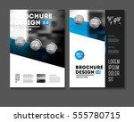 business brochure design.    Shutterstock .eps vector #555780715