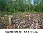 chopping wood | Shutterstock . vector #55579336