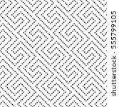 vector seamless pattern. modern ... | Shutterstock .eps vector #555799105