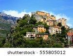 Village Of Corte  Corsica...