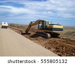 Excavator Is Ready To Loading...