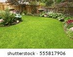 home garden. residential garden ...