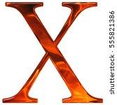 uppercase letter x   the... | Shutterstock . vector #555821386