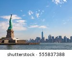 Statue Of Liberty And Lower...