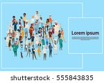 people group different...   Shutterstock .eps vector #555843835