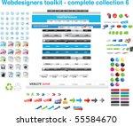 web designers toolkit  ... | Shutterstock .eps vector #55584670