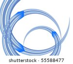 technology design   vector | Shutterstock .eps vector #55588477