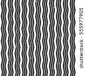 vintage grunge striped zig zag... | Shutterstock .eps vector #555977905