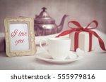 valentines day gift | Shutterstock . vector #555979816