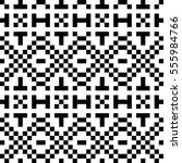 vector seamless pattern.... | Shutterstock .eps vector #555984766