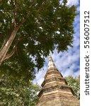 temple in north of thailand.  ii | Shutterstock . vector #556007512