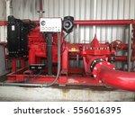 fire pump. | Shutterstock . vector #556016395