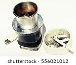 Vietnamese Cofe And Cigarette...