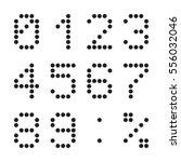 calculator digital numbers ...   Shutterstock .eps vector #556032046