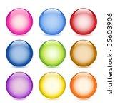 glossy balls eps10