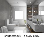 3d rendering modern design and... | Shutterstock . vector #556071202