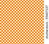 Pattern Picnic Orange Vector