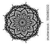 mandalas for coloring book.... | Shutterstock .eps vector #556080232