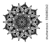 mandalas for coloring book.... | Shutterstock .eps vector #556080262