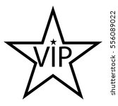 vip icon | Shutterstock .eps vector #556089022