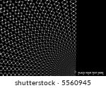 illustrated mono black and... | Shutterstock .eps vector #5560945