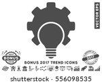 gray bulb configuration gear...   Shutterstock .eps vector #556098535