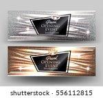 grand opening elegant cards...   Shutterstock .eps vector #556112815