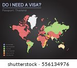 visas information for kingdom... | Shutterstock .eps vector #556134976