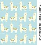 llama seamless repeating...   Shutterstock .eps vector #556148842