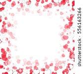 valentines day frame | Shutterstock .eps vector #556163266
