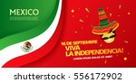 mexican translation of the... | Shutterstock .eps vector #556172902