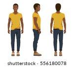 vector illustration of three... | Shutterstock .eps vector #556180078