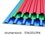 creative abstract  3d render... | Shutterstock . vector #556201396