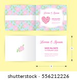 Pink Wedding Card Template...