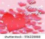 valentines day background...   Shutterstock . vector #556228888