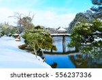 Japanese Garden In Winter...