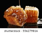 Two Pieces Of Organic Honeycom...