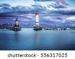 The Harbour In Bavarian City...