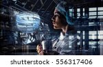 innovative technologies in... | Shutterstock . vector #556317406