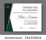 luxury certificate of... | Shutterstock .eps vector #556353826